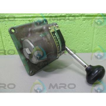 REXROTH H-2-LX CONTROL AIR VALVE 200PSI USED