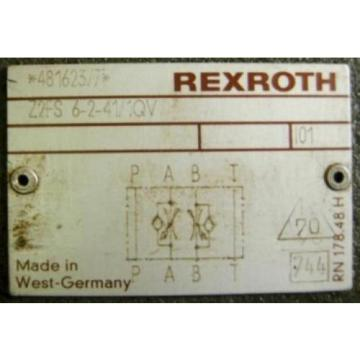 REXROTH DIRECTIONAL VALVE 4WE6JA51/AW120-60N9Z55L