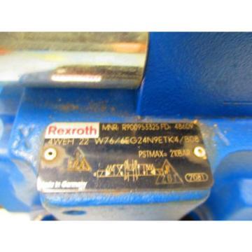 REXROTH Singapore Germany 4WEH22W76/6EG24N9ETK4/B08 R4WE6J62/EG24N9K4/B08 4 WAY CONTROL VALVE