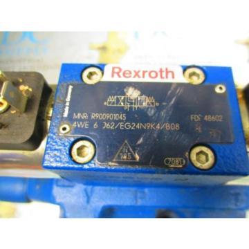 REXROTH 4WEH22W76/6EG24N9ETK4/B08 R4WE6J62/EG24N9K4/B08 4 WAY CONTROL VALVE