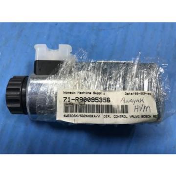 USED BOSCH REXROTH R90095356 DIRECTIONAL CONTROL VALVE 4WE6D60/SG24N9K4/Y U4