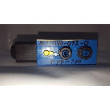 Origin Rexroth Pneumatic 572740 Solenoid Valve #4 C2M