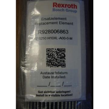 Bosch Egypt Korea Rexroth Hydraulic Filter R928006863 2.0250 H10XL-A00-0 160mm x 50mm 350LEN