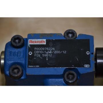 Rexroth Germany Singapore Directional Valve DB10-1-52/200/12 DB10 1-52/200/12 R900976226