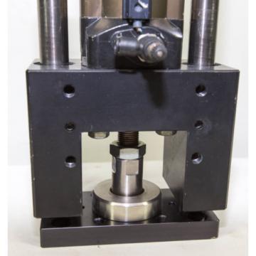 Rexroth Canada Greece Pneumatic Cylinder Air Ram 50mm Bore 40mm Stroke Linear bearing slides