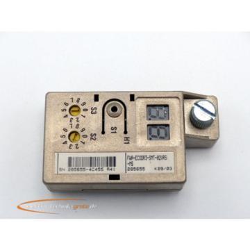 Bosch France Canada Rexroth FWA-EC0DR3-SMT-02VRS-MT Modul ESM02.3-FW