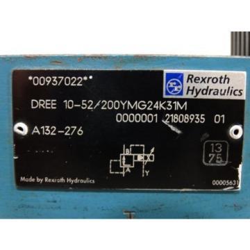 New Dutch Singapore Rexroth DREE10-52/200YMG24K31M valve