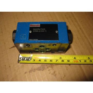 Rexroth Z2S6-2-64/V Hydraulic Check Valve R900347505