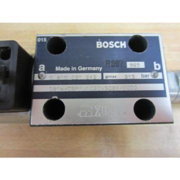 Rexroth Dutch Canada Bosch Group 081WV06P1V1020WS024/0000 Valve R397 965 - New No Box