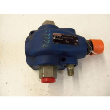 REXROTH Italy Greece DB 15 G2-44/350V/12 W65 VALVE RELIEVE PILOT OPERATED R900388022 *USED*