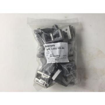 REXROTH Russia Japan BOSCH 3842 536 491  3842536491 ANGLE BRACKET NEW BAG OF 16 PCS