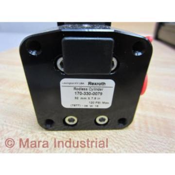 Rexroth Bosch 170-330-0079 LINEAR ACTUATOR 7877-06 W 18 - origin No Box