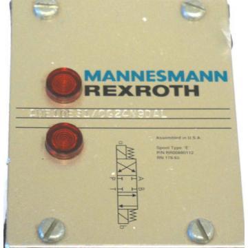 Origin REXROTH MANNESMANN 4WE10E31/CG24N9DAL HYDRAULIC VALVE 4WE10E31CG24N9DAL