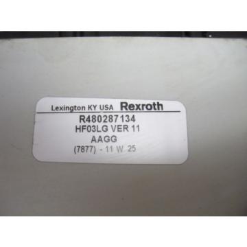 Rexroth 4 Valve Manifold Valve Assembly R480287134 HF03LG