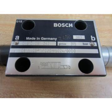 Rexroth Bosch Group 081WV06P1V1020WS024/0000 Valve 383 R480 - Used