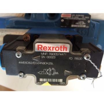 REXROTH 4WE6D62/EG24N9DK25L,H-4WEH25D64/6EG24N9ETDK25L VALVE 24V,R978919342,