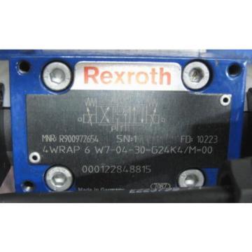 Rexroth 4WRKE16E125L-33/6EG24EK31/A1D3M Proportional Valve Rebuilt