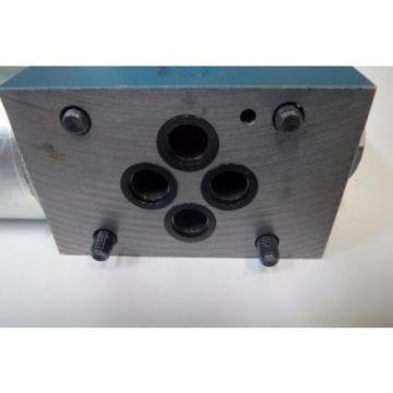 Mannesmann Rexroth 4WE 6 D61/EG24K4 SO293 Hydraulic Directional Valve 350bar