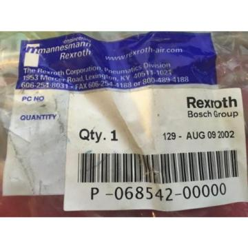 Origin Mannesmann Rexroth Pneumatic Valve Repair Kit P-068542-00000