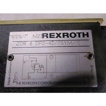 Rexroth ZDR 6 DD2-42/75YM/12 Valve Origin