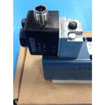 REXROTH R432006425 PNEUMATIC SOLENOID VALVE GT-10061-00440 150 MAX PSI Origin A1