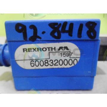 REXROTH 6008320000 VALVE Origin NO BOX