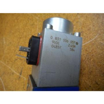 Bosch 0811404119 4WRP 6E-28S-1X/G24Z4/M Valve W/ 0831006057 Coil 9VDC 2,45A