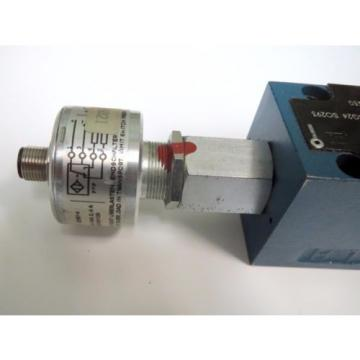 Mannesmann Rexroth 4WE6 Y2-61/EG24K4QMBG24 SO293 Spool Valve Position Monitoring
