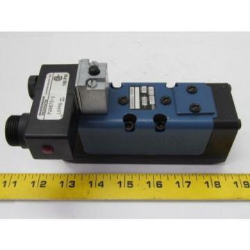 Rexroth Ceram GS-020061-00540 110VAC Pneumatic Solenoid Valve