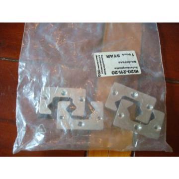Rexroth Linear Block Ball Rail Bearing Lubrication Plate Lot 4 # 1620-211-20 Origin