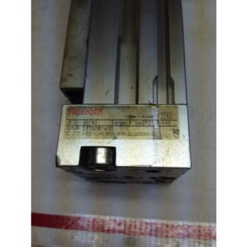 Rexroth 2779061410 Pneumatic Linear Slide Actuator SI:40 pmax:8-bar