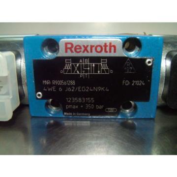 Rexroth 4 WE 6 J62/EG24N9K4 Control /Directional Valve , R900561288
