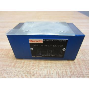 Rexroth Bosch Group HSZ 06 A603-32/M00 HSZ06A60332M00 Solenoid Valve