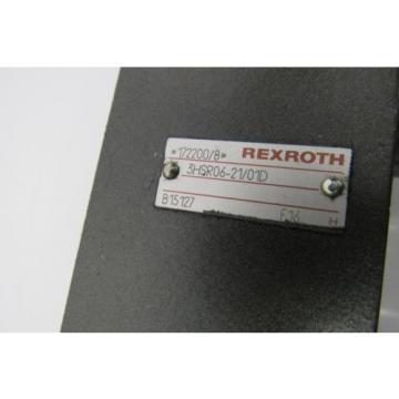 REXROTH VALVE 3HSR06-21/01D