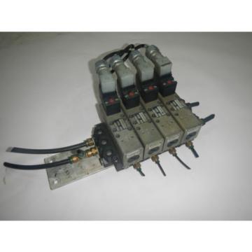 Rexroth GT10061-2440 4 Valve Unit Pneumatic Valve