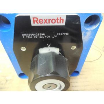 Rexroth Flow Control Valve R900429596 2 FRM 16-32/100 L/V origin