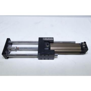 Rexroth Pneumatic Cylinder Air Ram 32mm Bore 100mm Stroke Linear bearing slides