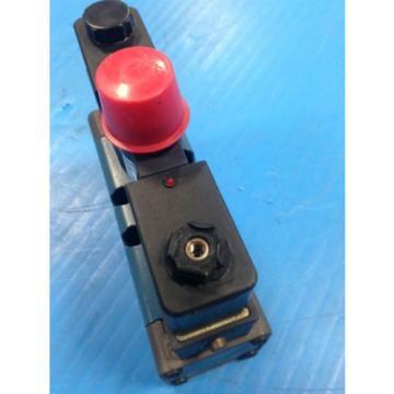 REXROTH GS-020052-00909 SOLENOID VALVE 24VDC Origin NO BOX U4