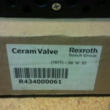 Rexroth ceram valvesset of 2R434000061/GS02001204141 origin