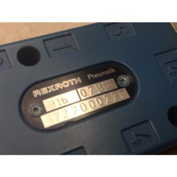 Rexroth 916  0795/5727000220 Valve #62448