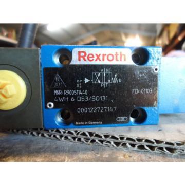 Rexroth Solenoid Valve R900511440  4WH6D5X / SO131 LIEBHERR 5613814