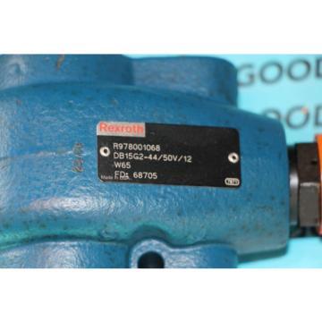 Rexroth R978001068 DB15G2-44/50V/12 Hydraulic Pressure Relieve Valve origin