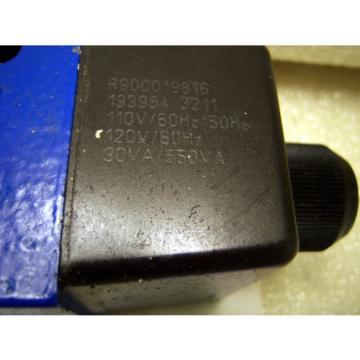 10015 Rexroth R900597186 Directional Control Valve