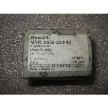 N1-3-1 1 Origin REXROTH 0658-230-40 LINEAR BUSHING