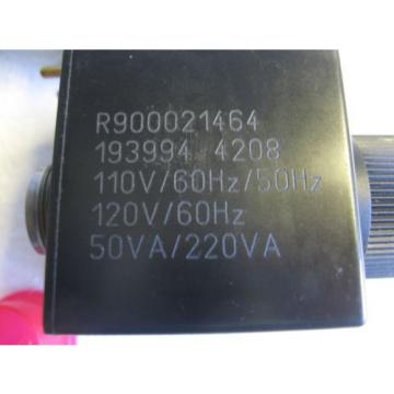 Lot of 2 Bosch Rexroth R900545656 Hydraulic Control Valve Solenoid 110/20/50/60