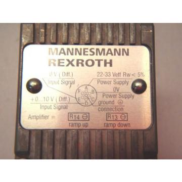 Rexroth DREE 10-52/100YG24NK31M Pressure Reducing Valve