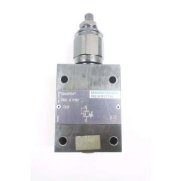 REXROTH DBD-6-P18 HYDRAULIC PRESSURE RELIEF VALVE D550097