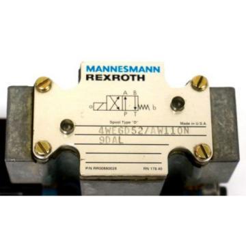 Origin REXROTH 4WE6D52/AW110N9DAL DIRECTIONAL VALVE WU35-0-A