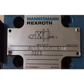 Mannesmann Rexroth Valve 4WE6D60/EG24N9Z45