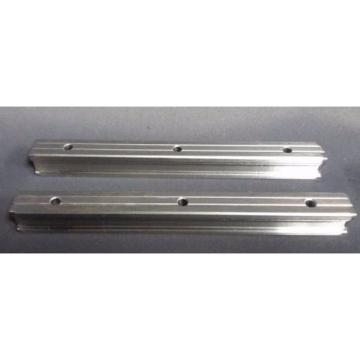 Rexroth N NR 7210 Linear Slide Rail 6-1/4#034; w/ Block R201119330 Lot of 2